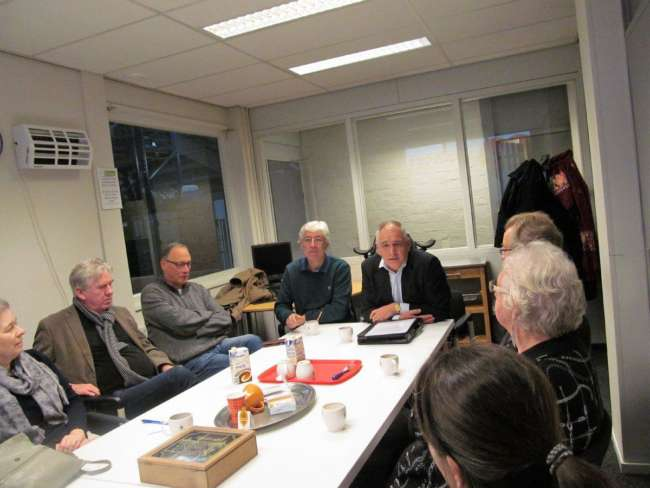 Sociale Raad Tilburg Op Bezoek Bij Voedselbank Tilburg